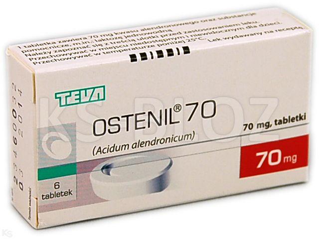 Ostenil 70 interakcje ulotka tabletki 0,07 g 6 tabl. | blister w pudełku