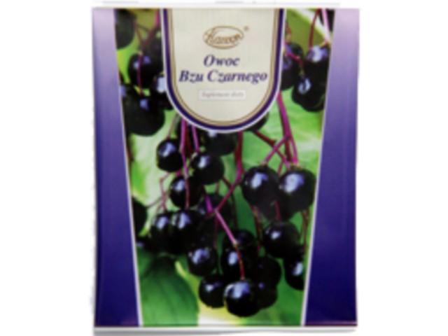 Owoc bzu czarnego interakcje ulotka   50 g