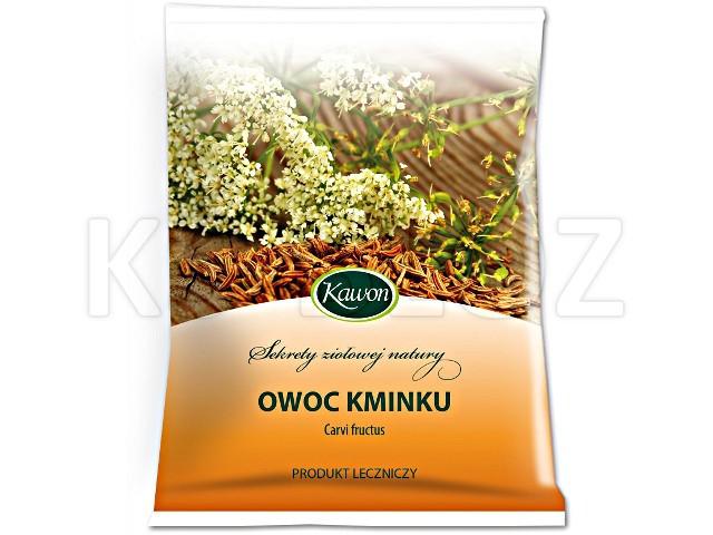 Owoc Kminku interakcje ulotka zioła do zaparzania  50 g