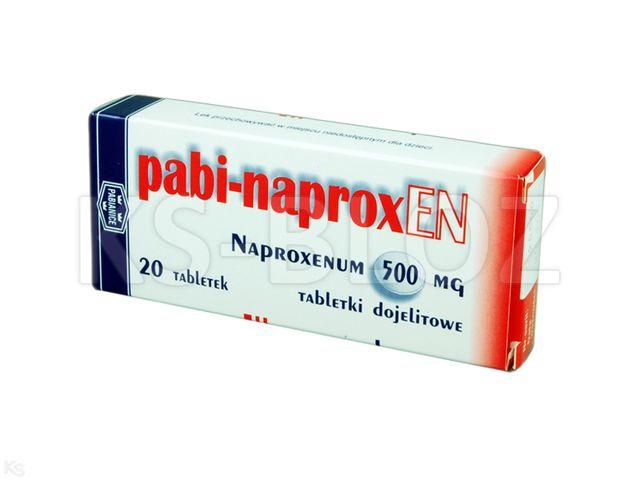Pabi-Naproxen interakcje ulotka tabletki dojelitowe 0,5 g 20 tabl.
