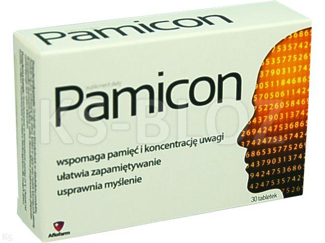 Pamicon interakcje ulotka tabletki powlekane  30 tabl.