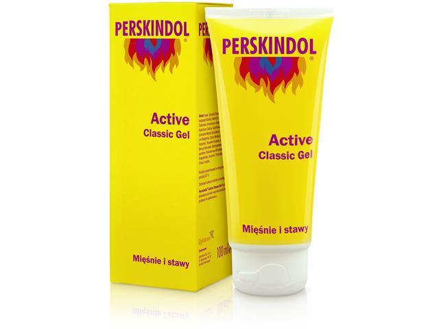 PERSKINDOL Active Classic Gel interakcje ulotka żel  100 ml