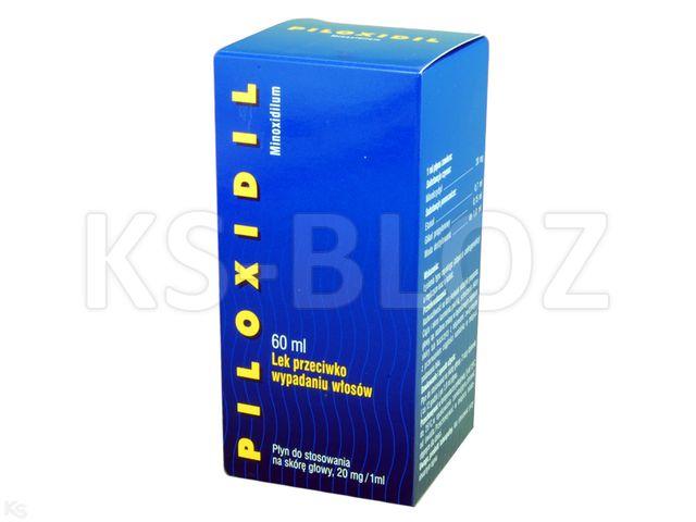 Piloxidil interakcje ulotka płyn do stosowania na skórę 0,02 g/ml 60 ml