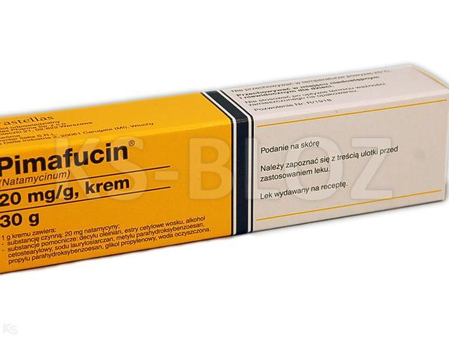 Pimafucin interakcje ulotka krem 0,02 g/g 30 g