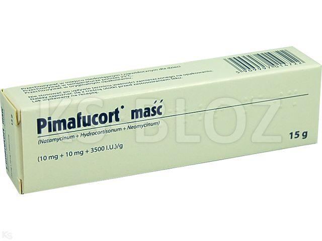 Pimafucort interakcje ulotka maść (0,01g+0,01g+3500I.U.)/g 15 g