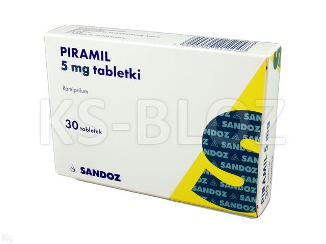 Piramil 5 mg interakcje ulotka tabletki 5 mg 30 tabl.