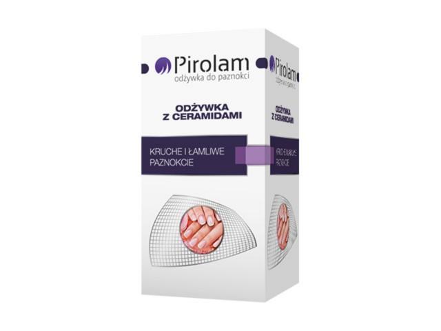 PIROLAM Odżywka do paznokci z ceramidami interakcje ulotka odżywka do paznokci  11 ml