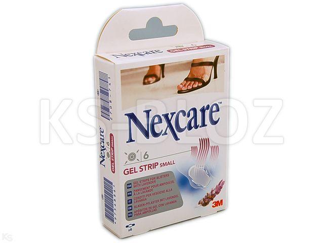 Plast.Nexcare GEL STRIP Small interakcje ulotka plaster  6 szt.