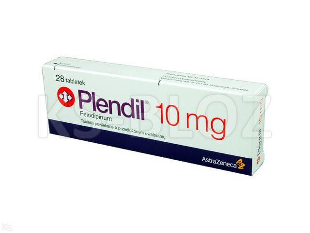 Plendil interakcje ulotka tabletki o przedłużonym uwalnianiu 0,01 g 28 tabl.