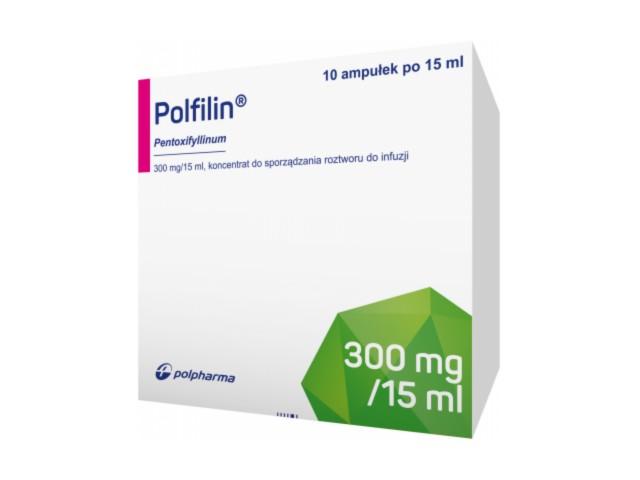 Polfilin interakcje ulotka koncentrat do sporządzania roztworu do infuzji 0,02 g/ml 10 amp. po 15 ml