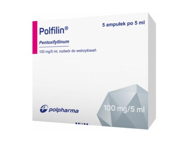 Polfilin interakcje ulotka roztwór do wstrzykiwań 0,1 g/5ml 5 amp. po 5 ml