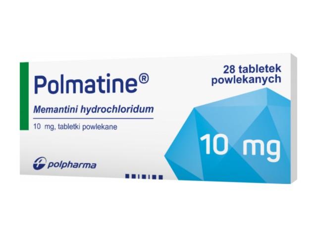 Polmatine interakcje ulotka tabletki powlekane 0,01 g 28 tabl.