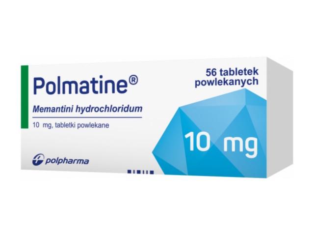 Polmatine interakcje ulotka tabletki powlekane 0,01 g 56 tabl.