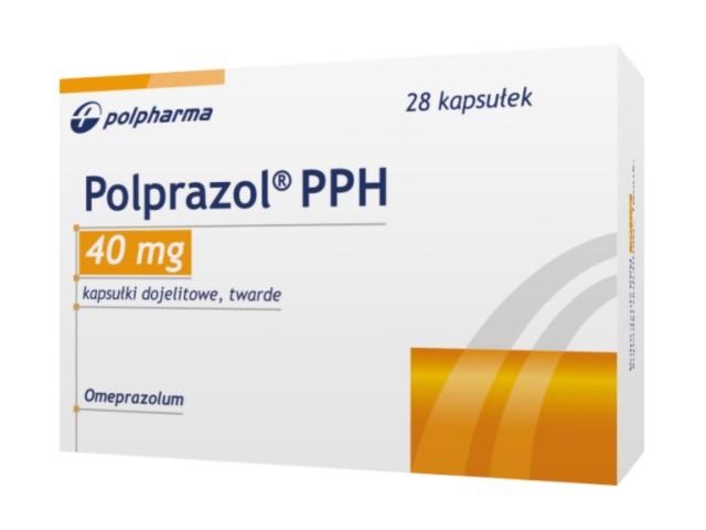 Polprazol PPH interakcje ulotka kapsułki dojelitowe twarde 0,04 g 28 kaps.
