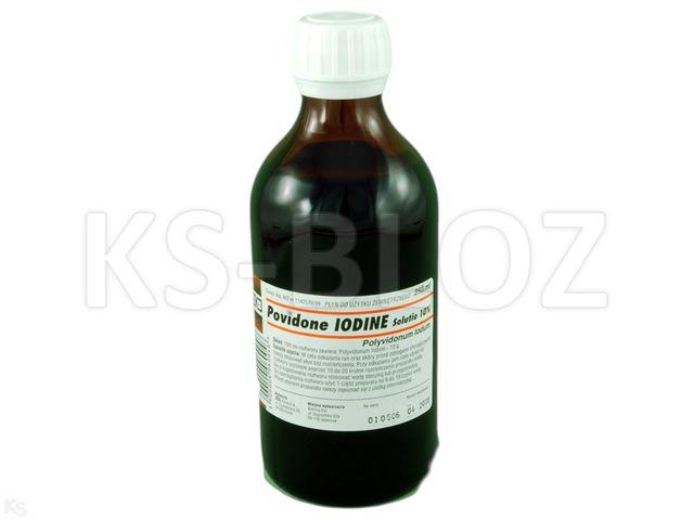 Povidone Iodine 10% (Rec.) interakcje ulotka roztwór  250 ml