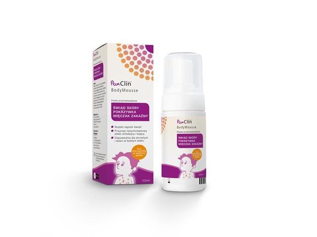 PoxClin® BodyMousse interakcje ulotka   100 ml