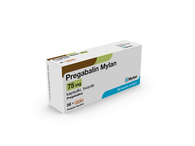 Pregabalin Mylan Pharma interakcje ulotka kapsułki twarde 0,075 g 14 kaps.