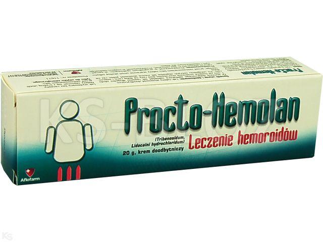 Procto-Hemolan interakcje ulotka krem doodbytniczy (0,05g+0,02g)/g 20 g