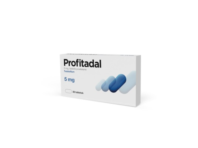Profitadal 5mg interakcje ulotka tabletki 5 mg 28 tabl.