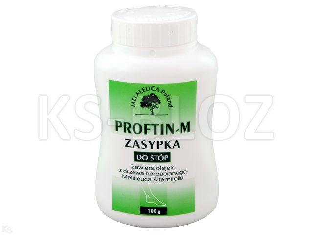 Proftin -M d/stóp interakcje ulotka zasypka  100 g