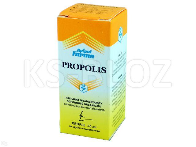 Propolis 3 % Tinctura interakcje ulotka krople  20 ml