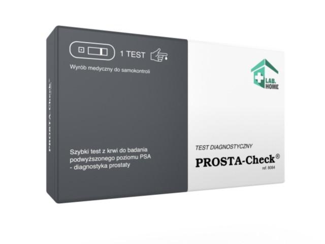 PROSTA-Check Test PSA d/wykr.poziom. antyg.prostaty PSA interakcje ulotka   1 szt.