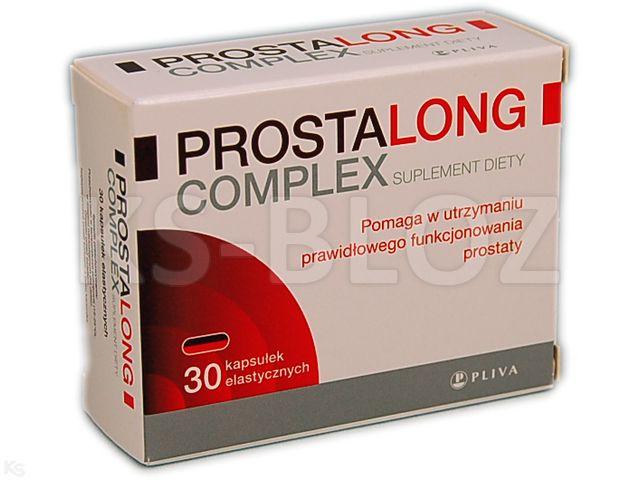 Prostalong Complex interakcje ulotka kapsułki elastyczne  30 kaps.