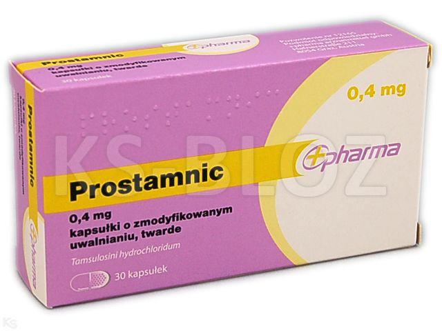 Prostamnic interakcje ulotka kapsułki o zmodyfikowanym uwalnianiu twarde 0,4 mg 30 kaps.