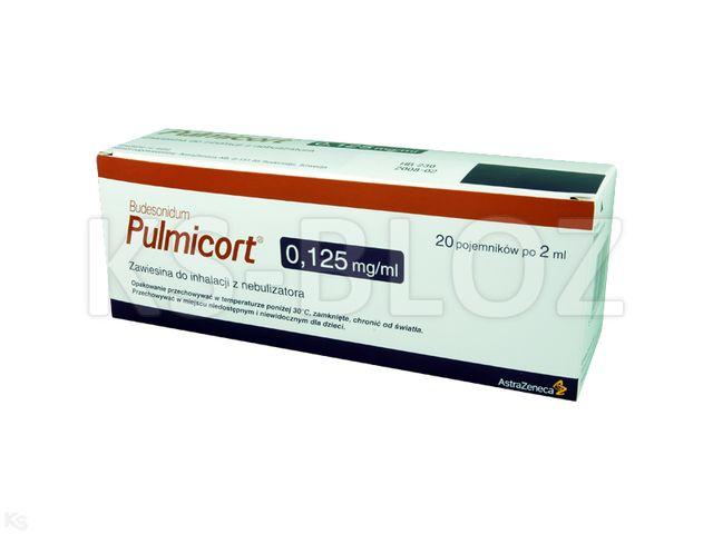 Pulmicort interakcje ulotka zawiesina do nebulizacji 0,125 mg/ml 20 poj. po 2 ml