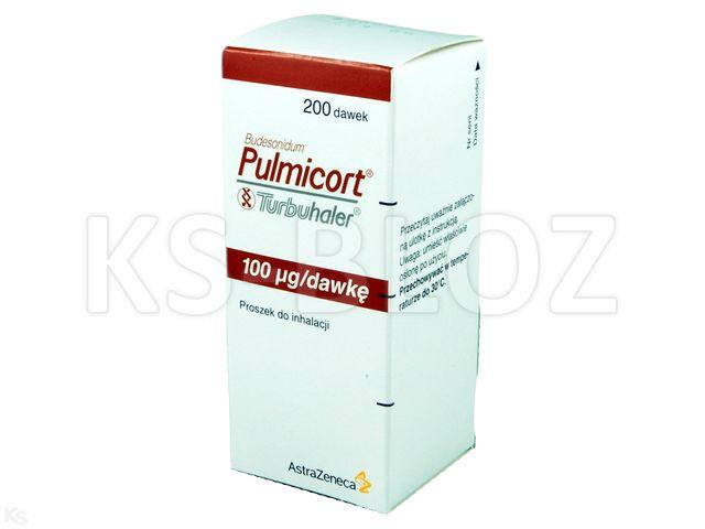 Pulmicort Turbuhaler interakcje ulotka proszek do inhalacji 0,1 mg/daw. 200 daw. | 1 poj.