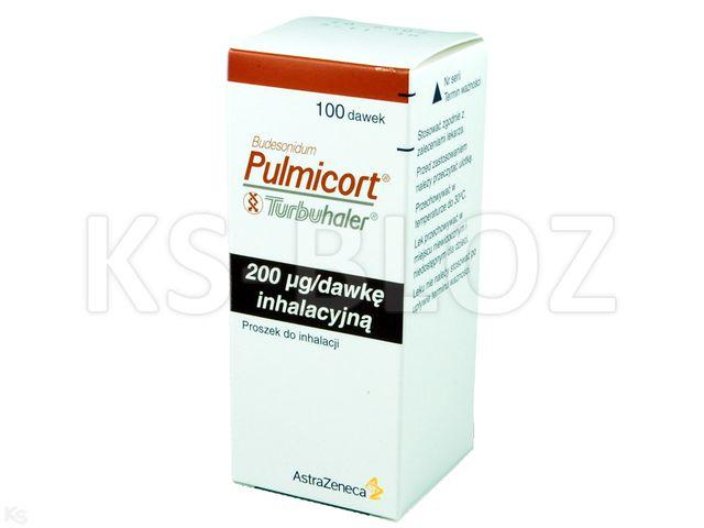 Pulmicort Turbuhaler interakcje ulotka proszek do inhalacji 0,2 mg/daw. 100 daw.