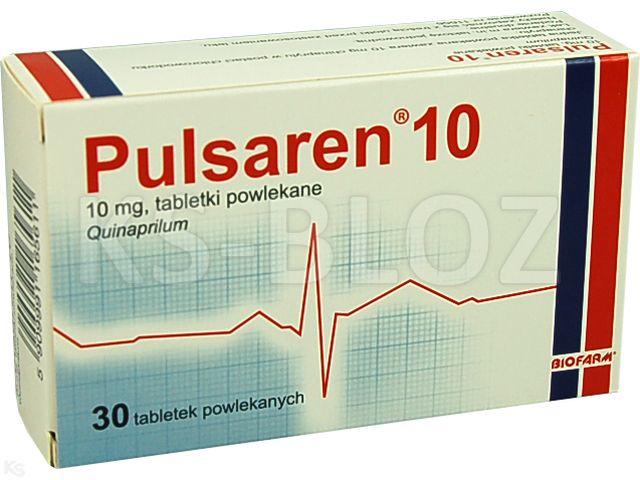 Pulsaren 10 interakcje ulotka tabletki powlekane 0,01 g 30 tabl. | 3 blist.po 10 szt.