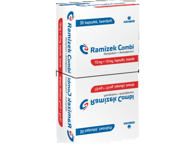 Ramizek Combi (Ramizek) interakcje ulotka kapsułki twarde 0,01g+0,01g 30 kaps.