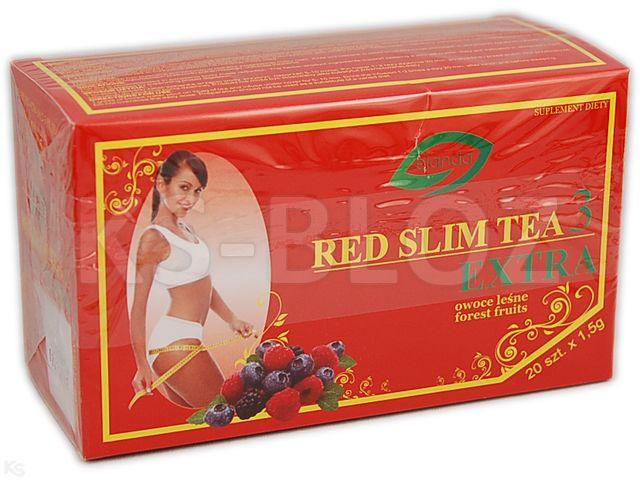 RED SLIM TEA 3 EXTRA SM.OW.LEŚNYCH interakcje ulotka  1,5 g 20 sasz.