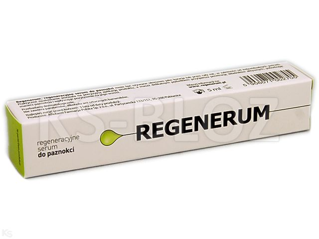 REGENERUM Serum regen.d/paznokci interakcje ulotka   5 ml