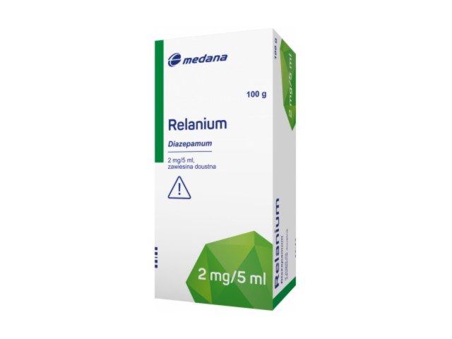 Relanium interakcje ulotka zawiesina doustna 2 mg/5ml (31,25 mg) 100 g