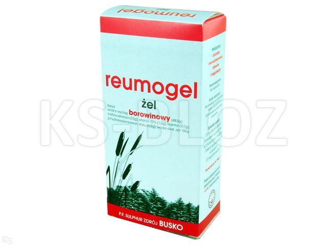 Reumogel interakcje ulotka żel 0,49 g/g 130 g