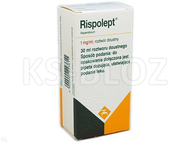 Rispolept interakcje ulotka roztwór doustny 1 mg/ml 30 ml