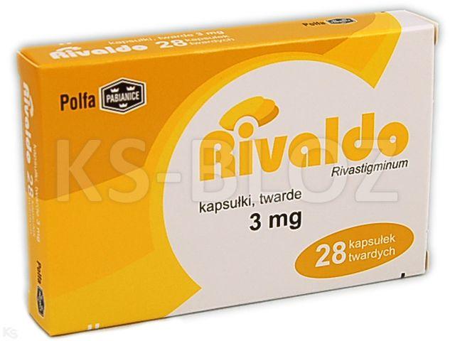 Rivaldo interakcje ulotka kapsułki twarde 3 mg 28 kaps.
