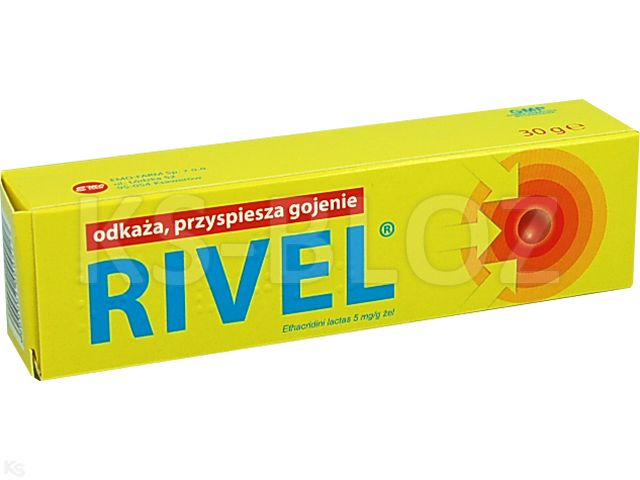Rivel interakcje ulotka żel 5 mg/g 30 g