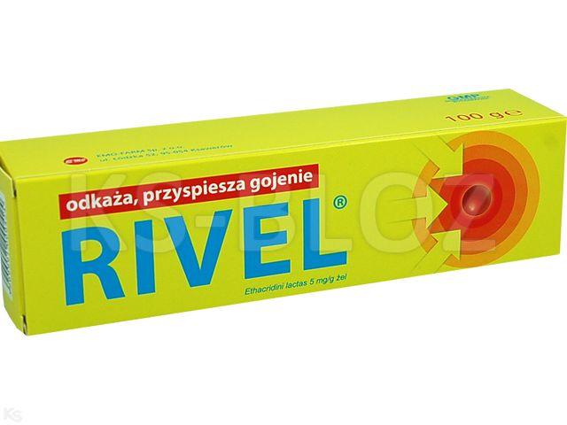 Rivel interakcje ulotka żel 5 mg/g 100 g | tuba