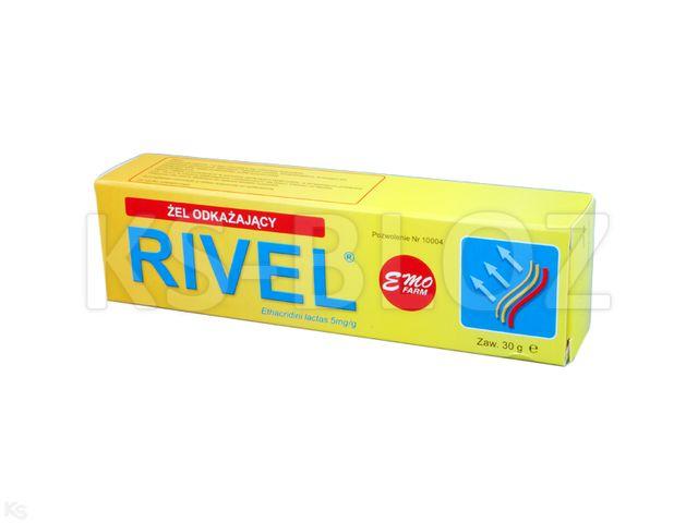 Rivel żel odkażający interakcje ulotka  5 mg/g 30 g