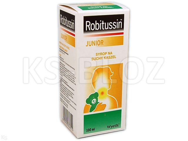 Robitussin Junior interakcje ulotka syrop 3,75 mg/5ml 100 ml
