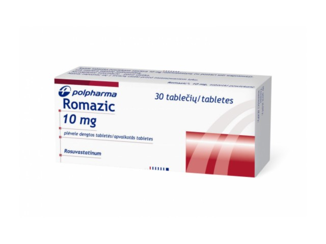 Romazic interakcje ulotka tabletki powlekane 0,01 g 30 tabl.