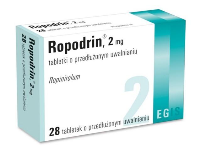 Ropodrin interakcje ulotka tabletki o przedłużonym uwalnianiu 2 mg 28 tabl.