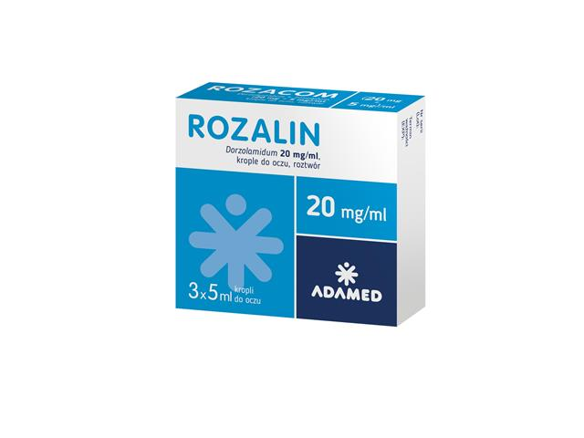 Rozalin interakcje ulotka krople do oczu 0,02 g/ml 3 but. po 5 ml