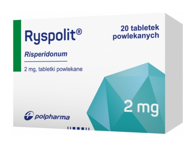 Ryspolit interakcje ulotka tabletki powlekane 2 mg 20 tabl.