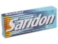 Saridon interakcje ulotka tabletki 0,25g+0,15g+0,05g 10 tabl.