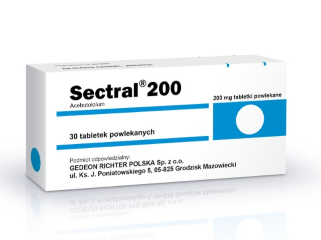 Sectral 200 interakcje ulotka tabletki powlekane 0,2 g 30 tabl.