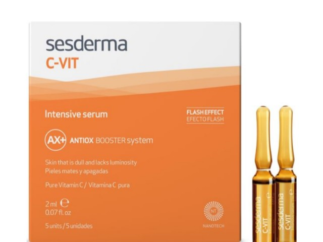 SESDERMA C-VIT INTENSYWNE SERUM 12% interakcje ulotka   5 amp. po 2 ml